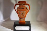 Terracotta Urn Trophy -Naples National