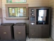 Legacy Ridge WATER STATION & TRASH CANS
