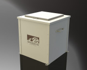 Garbage Can Enclosures for Golf Courses