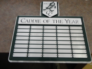 Custom Perpetual Golf Plaque -Battle Creek