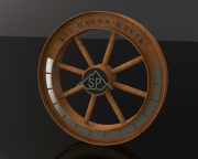 Perpetual Plaque Wheel -Spanish Peaks