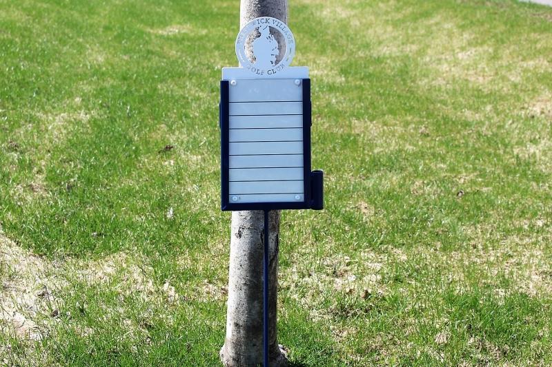 Golf Proximity Markers -Prestwick GC