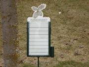 Pinehurst Golf Proximity Marker