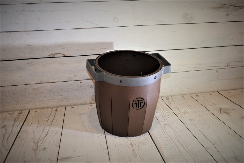 Barrel Ball Buckets -Talking Rock