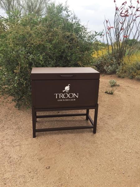 Driving Range Box -Troon CC