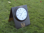 Pace of Play Clock A-Frame Sign -Mediterra