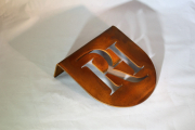 Rusted Tee Marker -Rolling Hills