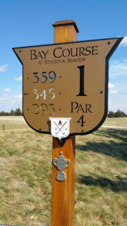 Pines Course Tee Sign- Seaview