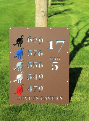 Tee Monuments -Troon Country Club