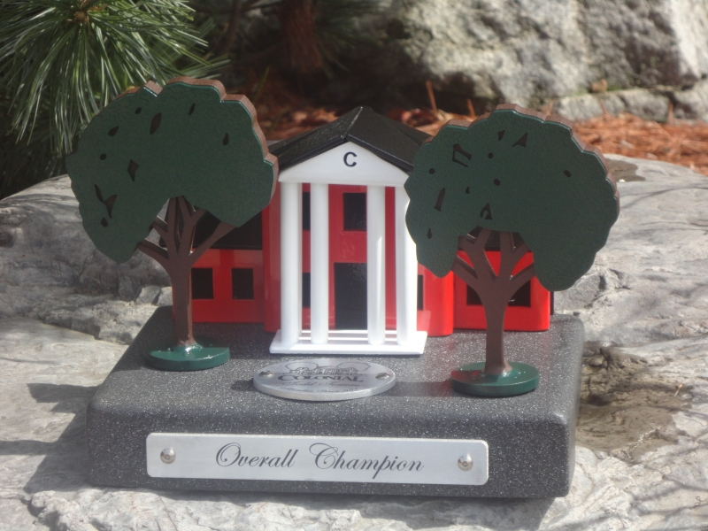 Custom Golf Trophy -Colonial Country Club