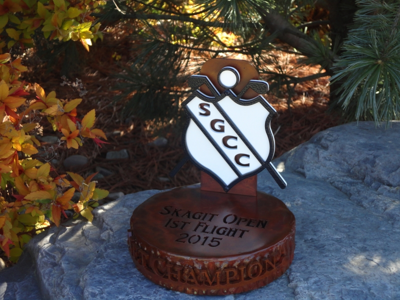 Golf Invitational Trophy -Skagit