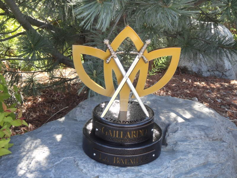 Match Play Trophy -Gaillardia