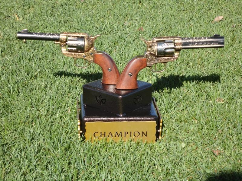Member-Member Shootout Trophy -Gaillardia