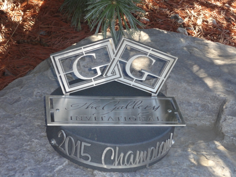 The Gallery Custom Invitational Trophy