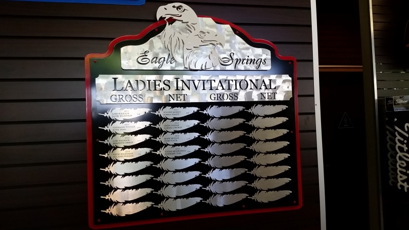 Women's Invitational Board -Eagle Springs
