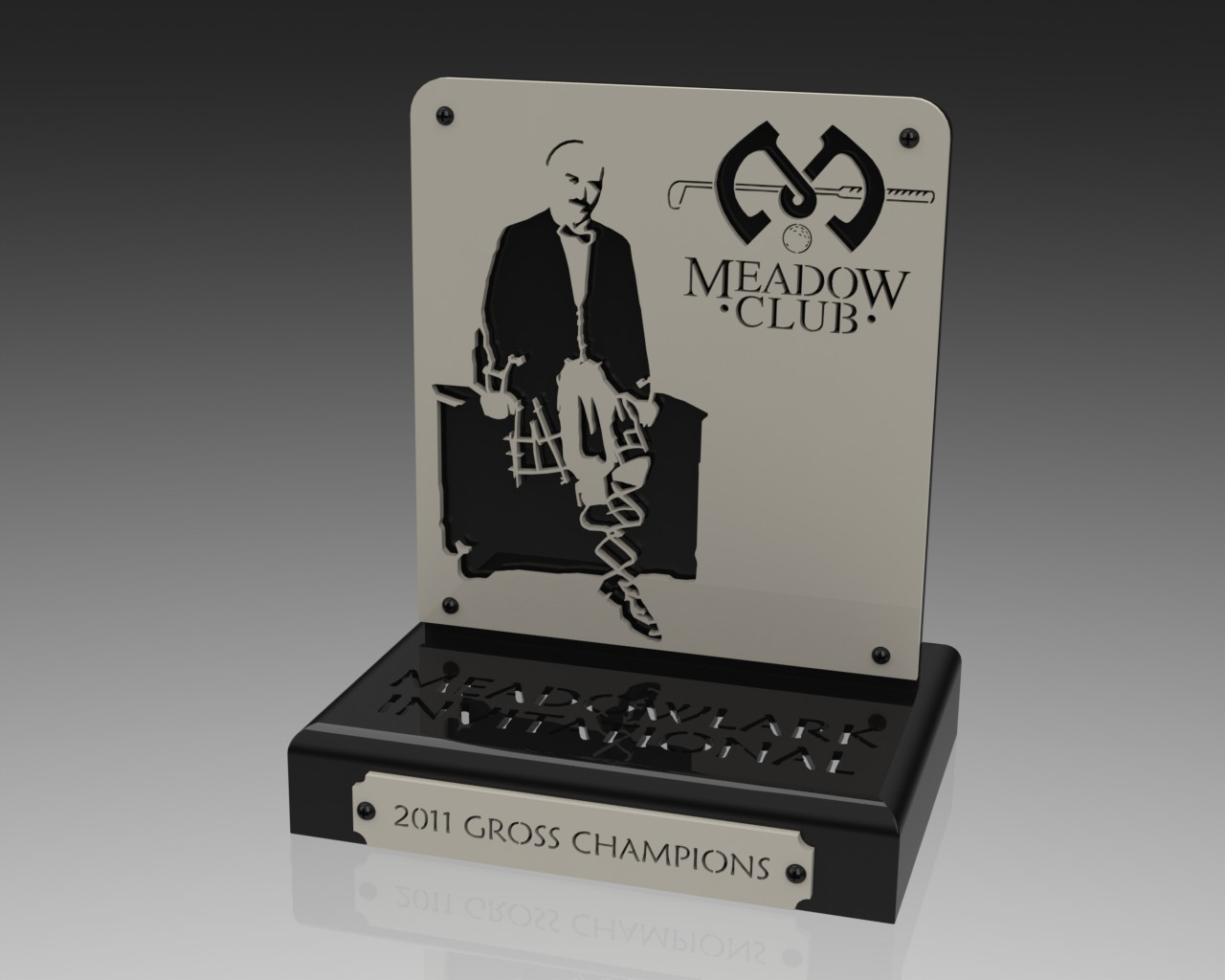Custom Golf Trophy