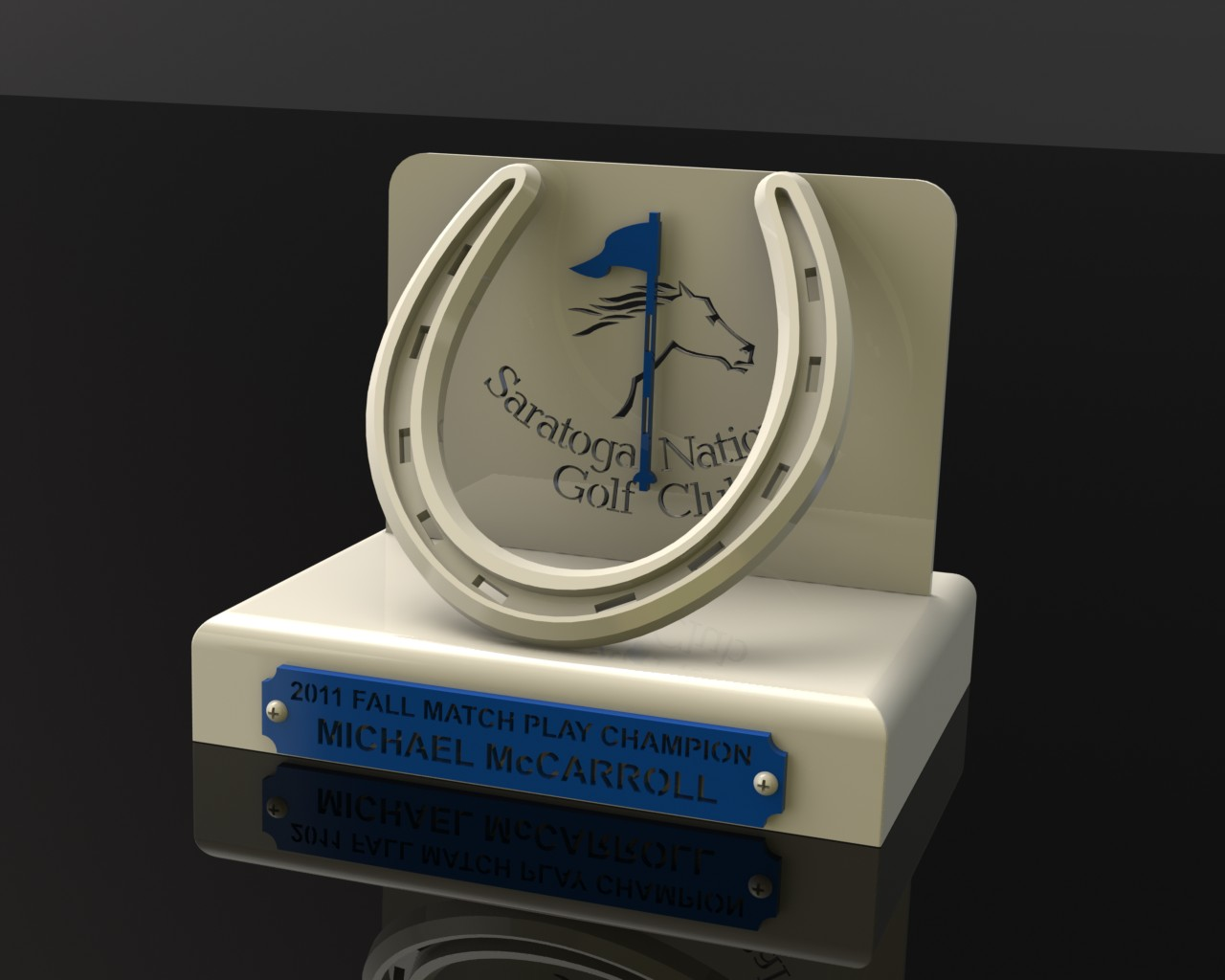 Saratoga National Custom Trophy