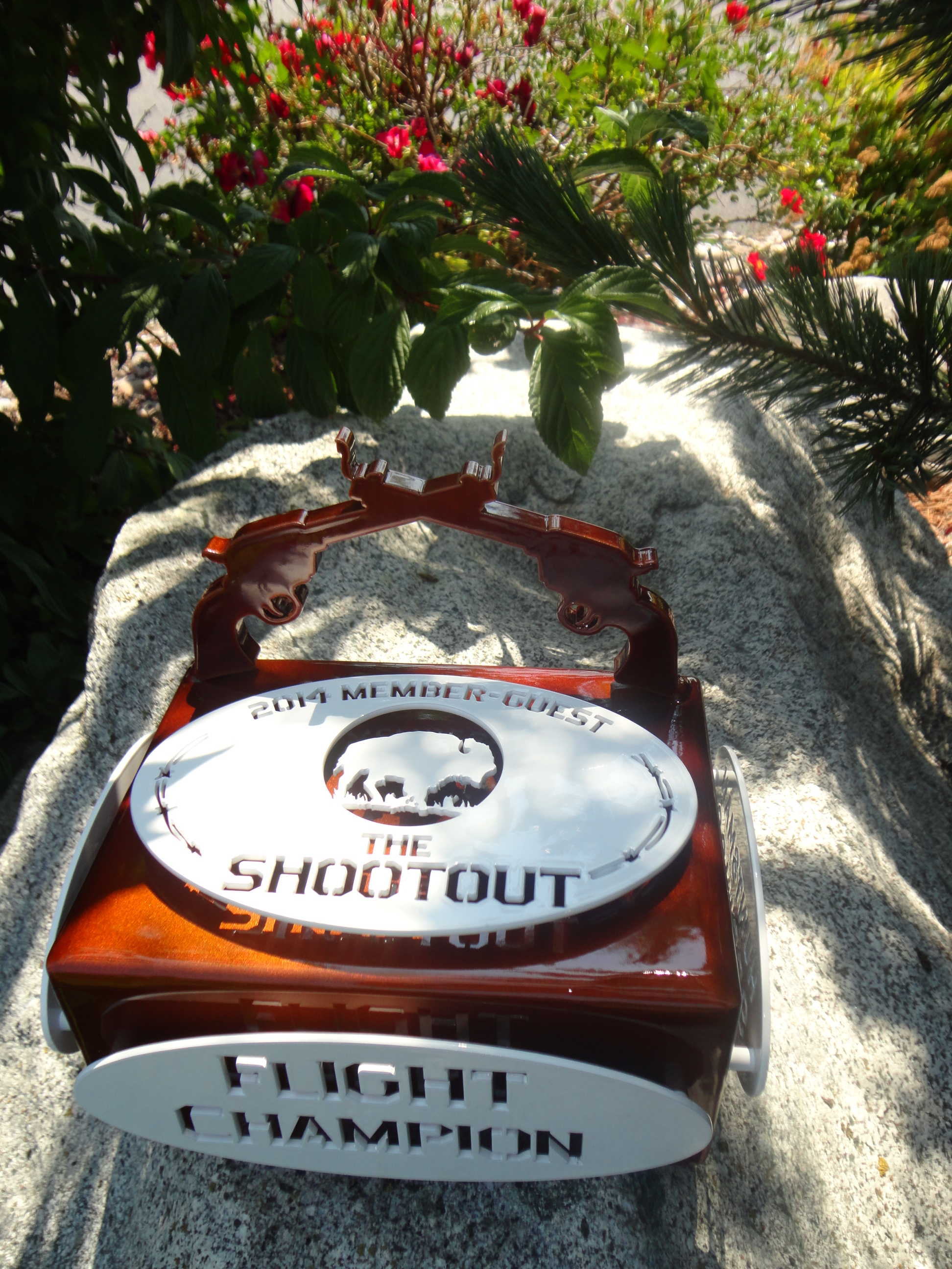 Golf Shootout Trophy-HUNTSMAN SPRINGS