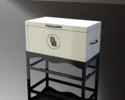 Large Cooler Box on Stand
