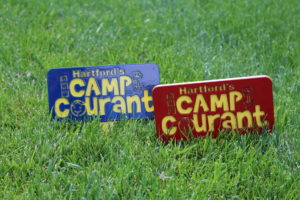 Camp Courant Tee Markers