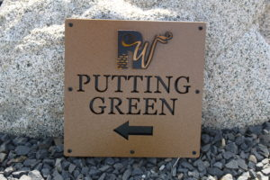Directional Signs for Golf Courses 3 -Rockwind