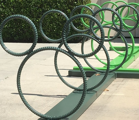 Hidden Mickey Bike Rack