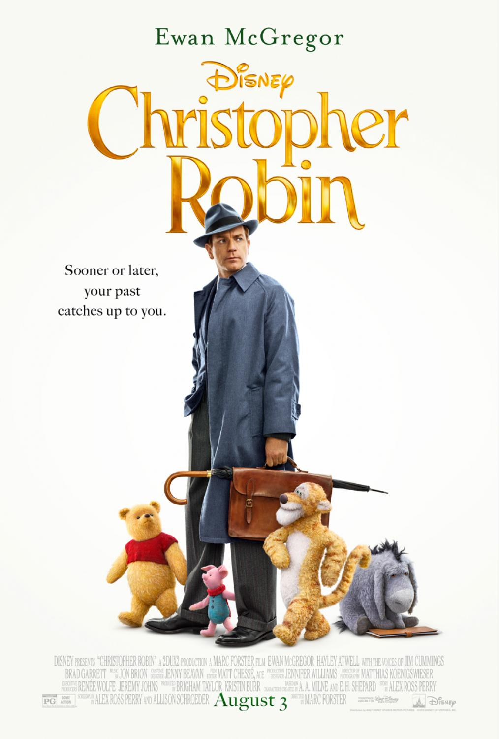 Christopher Robin Theatrical Poster