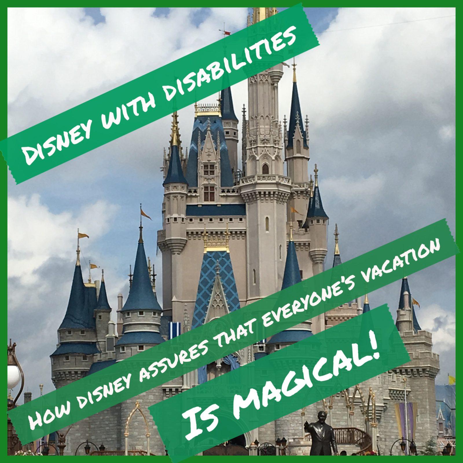 Disney With Disbilities