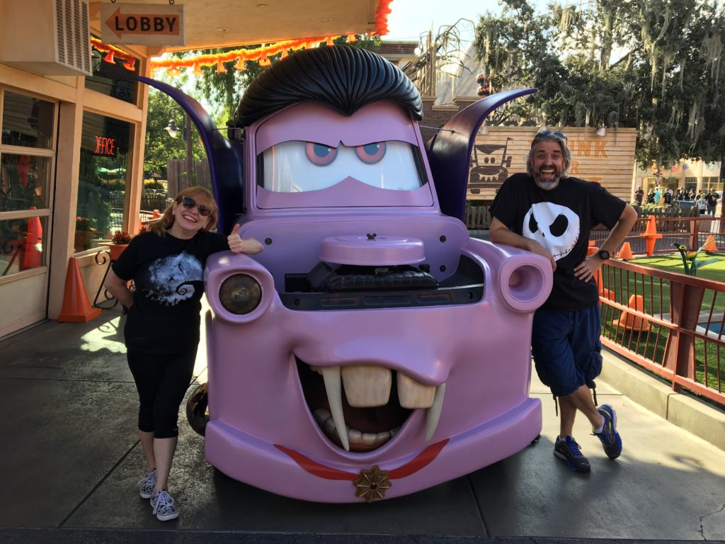 Tom, Michelle & Vampire Mater at the Disneyland Resort