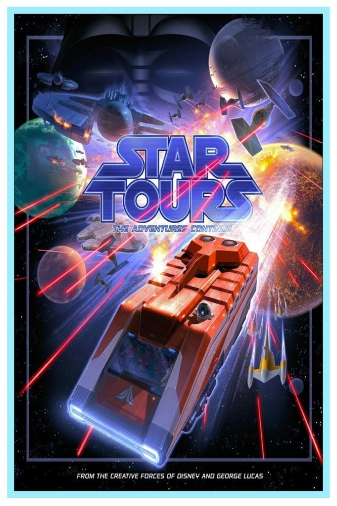 Star Tours - Star Wars & Disney Parks