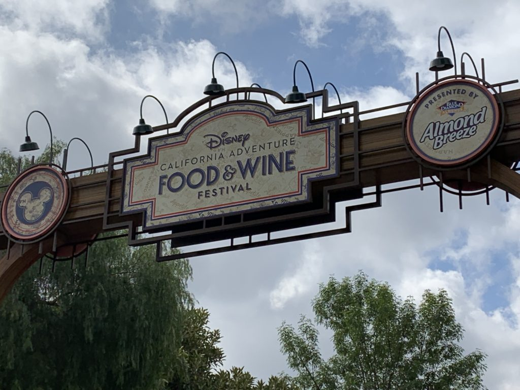 Food & Wine - Sign