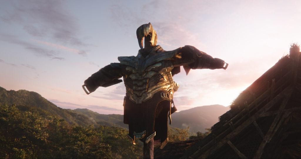 Thanos Armor Scarecrow