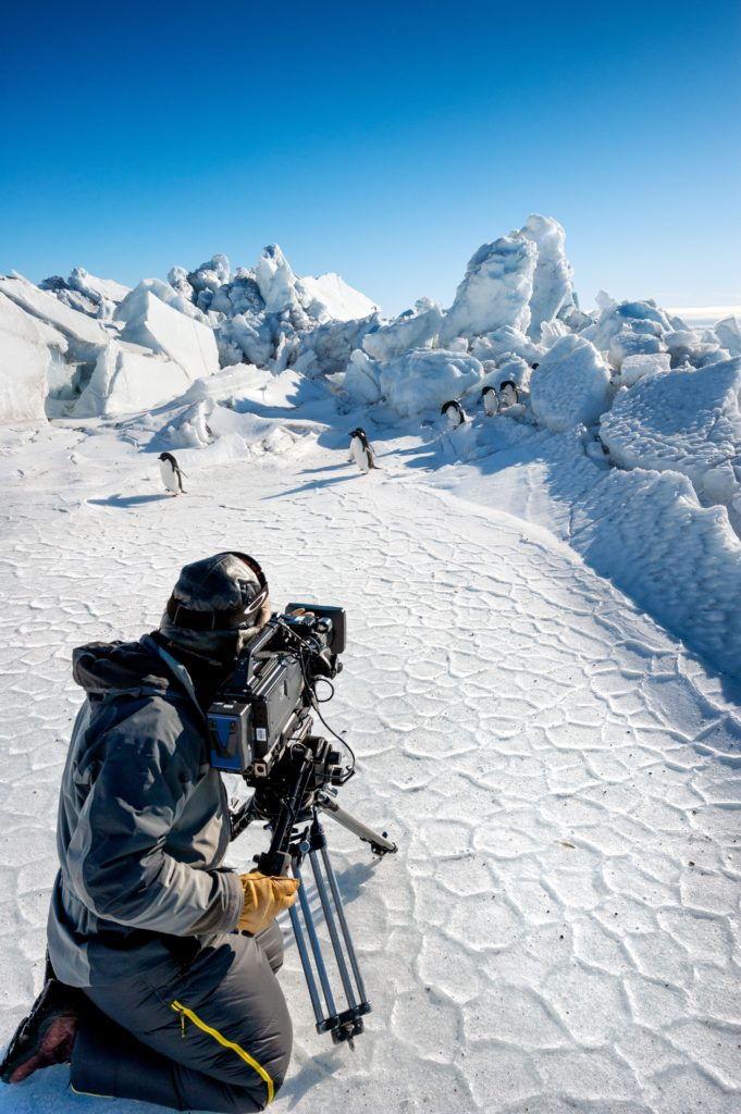 Disneynature - Penguins - Filming
