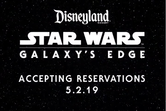 Star Wars: Galaxy's Edge - Reservations