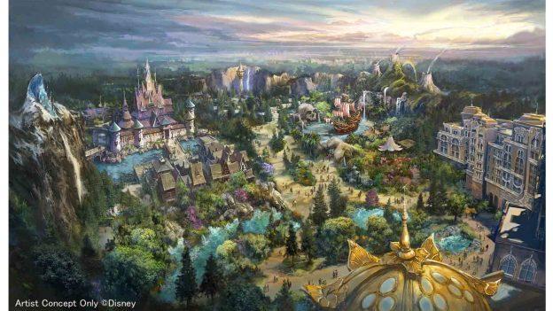 Fantasy Springs Concept Art - Tokyo DisneySea