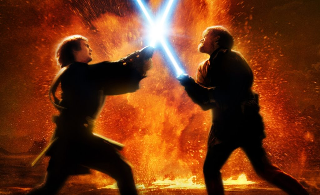 Revenge of the Sith - Anakin/Obi-Wan Batt;e