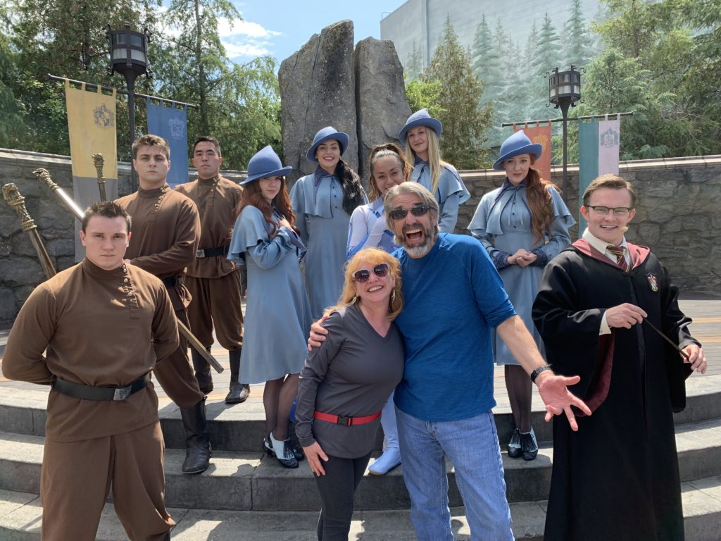 Tri-Wizard Cup - Wizarding World of Harry Potter - Universal Studios Hollywood - Mother's Day the DIsney Way Episode