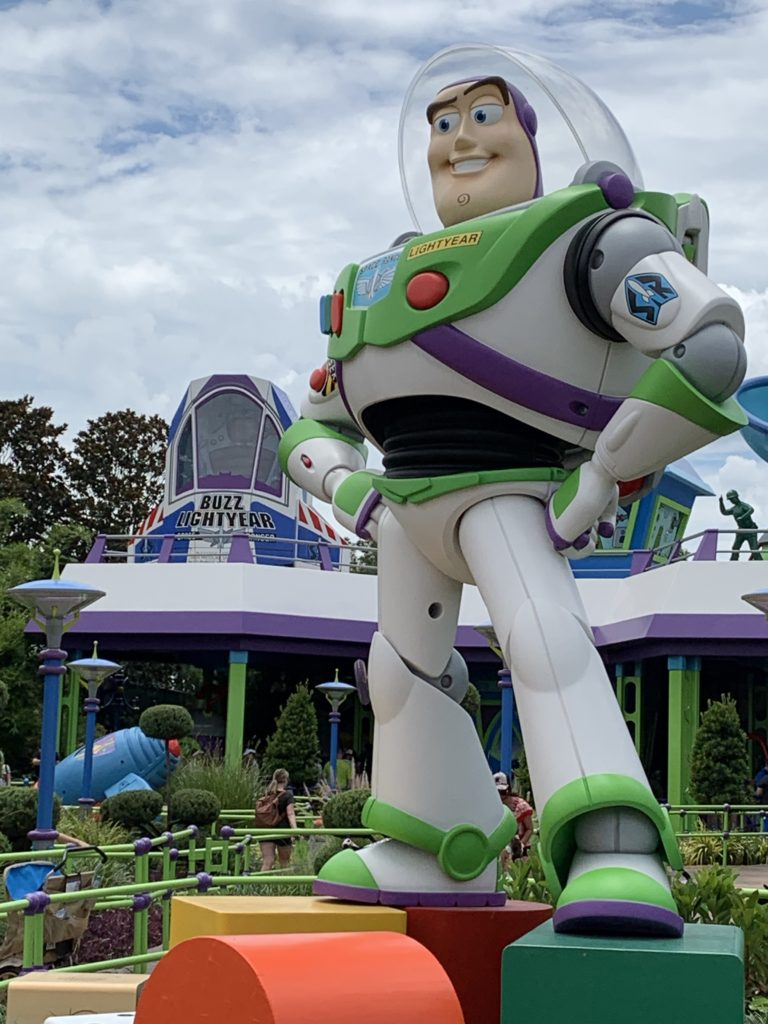 Buzz Lightyear - Toy Story Land - A Very Special Hyperion Adventures Podcst