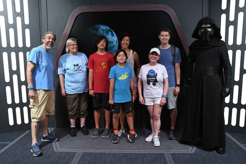 Our Family With Kylo Ren - Disney's Hollywod Studios - Walt Disney World