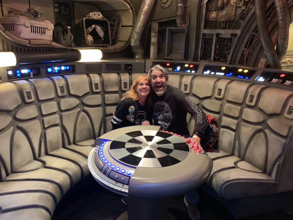 Millennium Falcon - Game Table - Star Wars: Galaxy's Edge - Disneyland