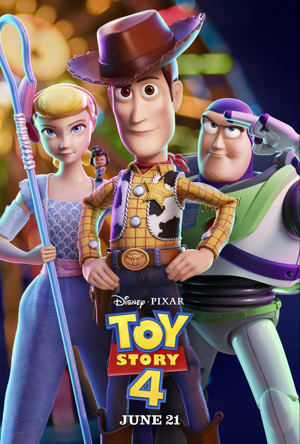 Toy Story 4 - Poster