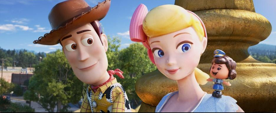 Woody and Bo Peep - Toy Story 4