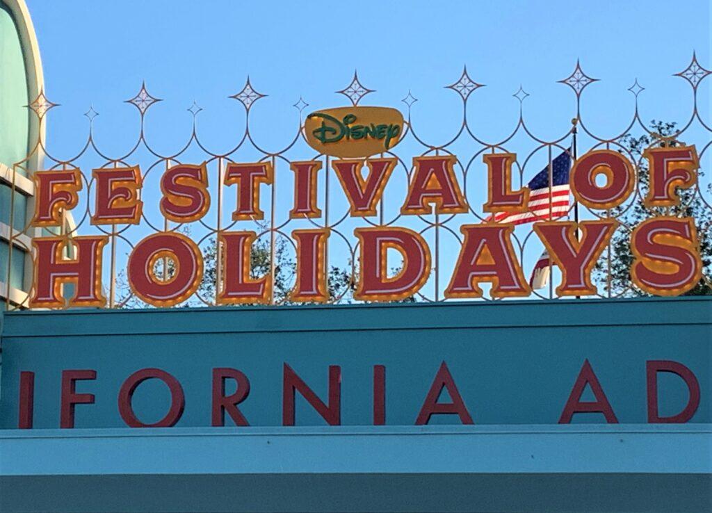 Festival of Holidays - Disney California Adventure Park