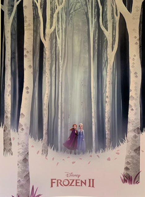 Navigating Disney Parks - Frozen 2 Poster Giveaway