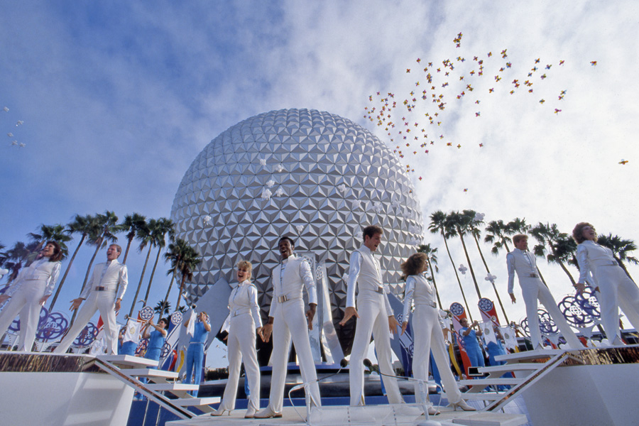 The opening of Epcot Center - Disney in the '80s