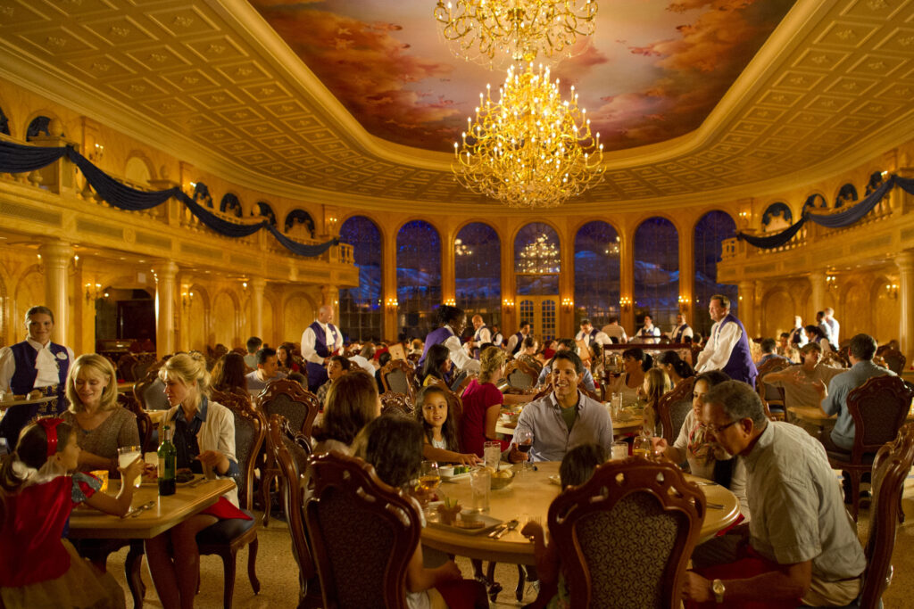 Be Our Guest Restaurant - Magic Kingdom - Walt Disney World - Our 5 Favorite Themed Disney Restaurants
