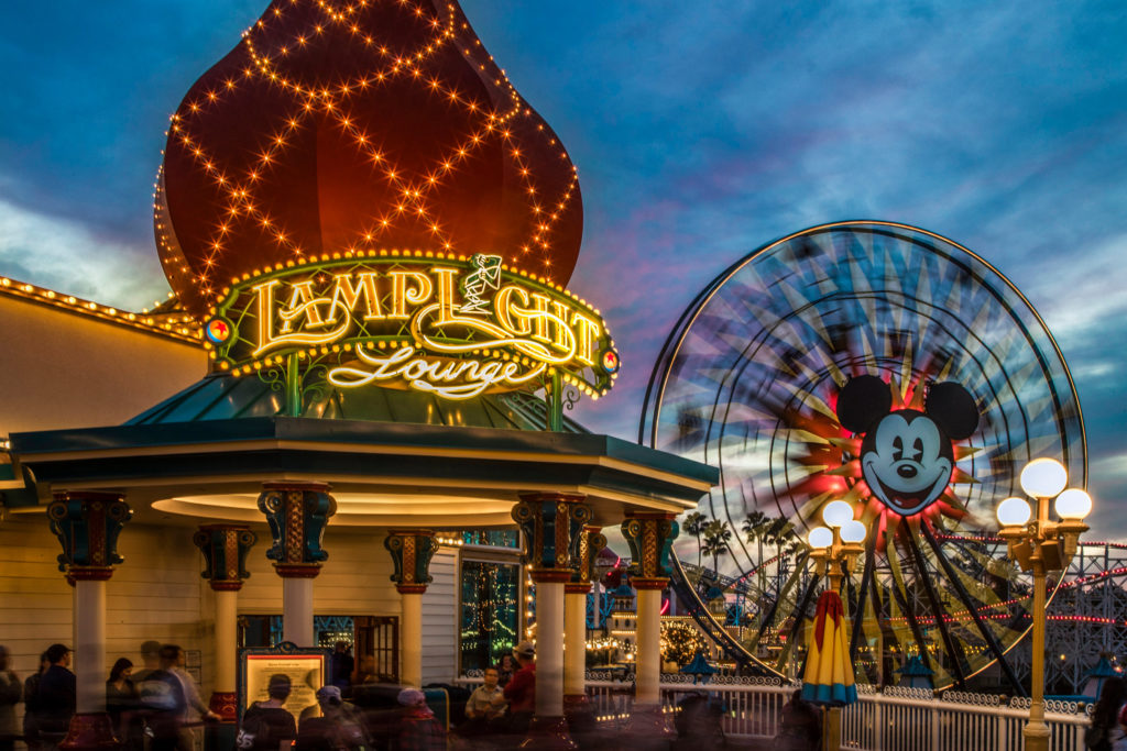 Lamplight Lounge - Disney California Adventure Park - Our 5 Favorite Disney Lounges