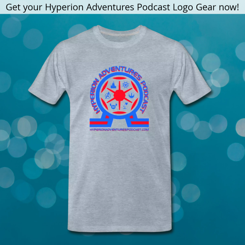 New Hyperion Adventures Podcast Logo T-Shirt - Disney and the 1964 World's Fair
