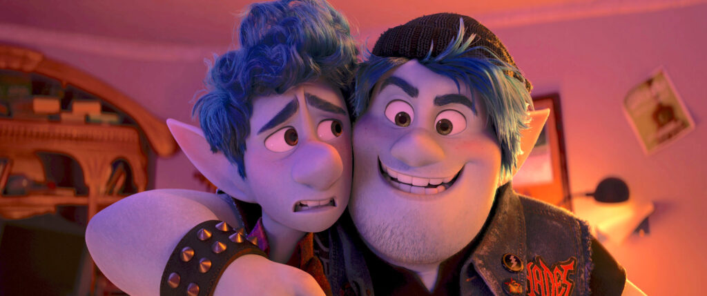 Barley and Ian Lighfoot from Onward - Our 5 Favorite Disney Father Figures