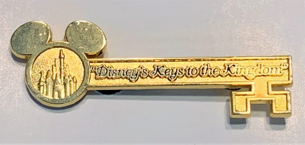 Keys to the Kingdom Pin - Disney Parks Guided Tours